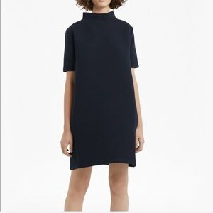 French Connection Ottoman Shift Dress minimalist L